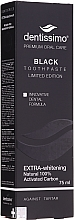 Parfums et Produits cosmétiques Dentifrice blanchissant au carbone - Dentissimo Extra Whitening Black