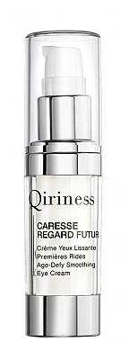 Qiriness Age-Defy Smoothing Eye Cream - Crème à l'extrait de feuilles de camélia pour contour des yeux — Photo N1