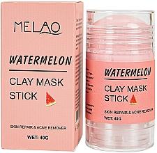 Parfums et Produits cosmétiques Masque en stick pour visage Pastèque - Melao Watermelon Clay Mask Stick