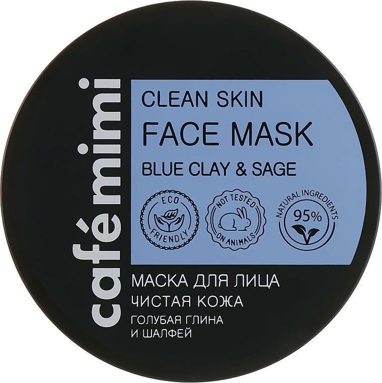 Masque à l'argile bleu pour visage - Cafe Mimi Clean Skin Face Mask