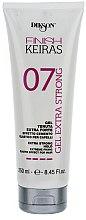 Parfums et Produits cosmétiques Gel coiffant tenue extra forte - Dikson Finish Keiras Gel Extra Strong Effetto Cemento Elastino 07