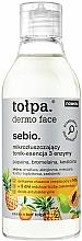 Parfums et Produits cosmétiques Essence tonique aux 3 enzymes pour visage - Tolpa Dermo Face Essence-Tonic