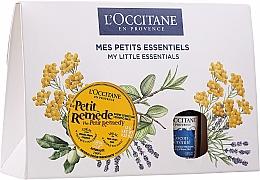 Parfums et Produits cosmétiques L'Occitane My Little Essentials - Set (baume pour visage, corps et cheveux/15g + brume d'oreiller/15ml)
