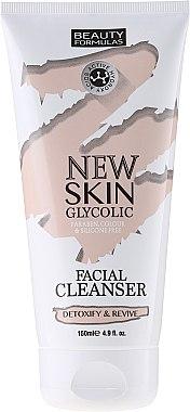Lait nourrissant et détoxifiant pour visage - Beauty Formulas New Skin Glycolic Facial Cleanser