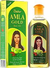 Parfums et Produits cosmétiques Huile d'amla, amande et henné pour cheveux - Dabur Amla Gold Hair Oil
