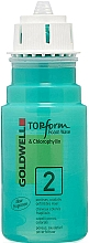 Parfums et Produits cosmétiques Mousse permanente pour cheveux colorés et fragilisés - Goldwell Topform Foam Wave 2