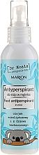 Parfums et Produits cosmétiques Spray à l'huile d'eucalyptus pour pieds - Marion Dr Koala Foot Antiperpirant In Mist