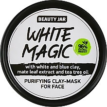 Masque à l'huile d'arbre à thé pour visage - Beauty Jar White Magic — Photo N1