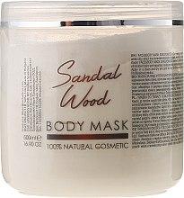 Parfums et Produits cosmétiques Masque à l'argile blanche et huile de bois de santal pour visage et corps - Sezmar Collection Professional Body Mask Sandal Wood