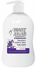 Parfums et Produits cosmétiques Savon liquide doux au sureau noir - Bialy Jelen Hypoallergenic Premium Soap Extract From Elderberry