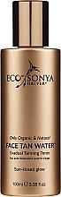 Parfums et Produits cosmétiques Eau autobornzante à l'huile d'orange pour visage - Eco by Sonya Eco Tan Face Tan Water