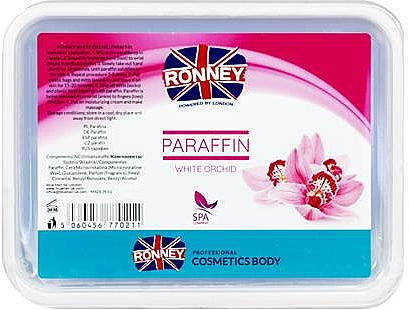 Paraffine à l'orchidée blanche pour mains et pieds - Ronney Paraffin White Orchid