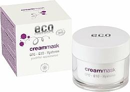 Parfums et Produits cosmétiques Crème-masque à l'acide hyaluronique pour visage - Eco Cosmetics Cream Mask With OPC Q10 & Hyaluron