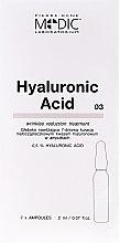 Parfums et Produits cosmétiques Ampoules à l'acide hyaluronique pour le visage - Pierre Rene Medic Laboratorium Vital Serum