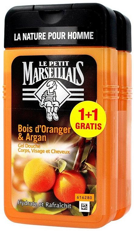 Cadeau - Le Petit Marseillais Orange Tree and Argan Shampoo Shower Gel (Shampooing-gel douche/2x250ml)