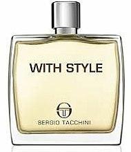 Parfums et Produits cosmétiques Sergio Tacchini With Style - Lotion après-rasage