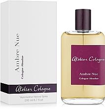 Parfums et Produits cosmétiques Atelier Cologne Ambre Nue - Eau de Cologne