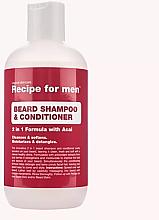 Parfums et Produits cosmétiques Shampooing et après-shampooing à l'açaï pour barbe - Recipe for Men Beard Shampoo & Conditioner