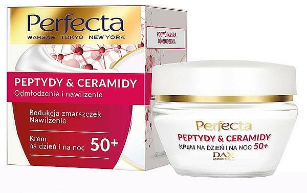 Crème de jour et nuit aux céramides et peptides 50+ - Perfecta Peptydy&Ceramidy — Photo N1