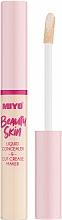 Parfums et Produits cosmétiques Correcteur liquide pour visage - Miyo Beauty Skin Liquid Concealer & Cut Crease Maker