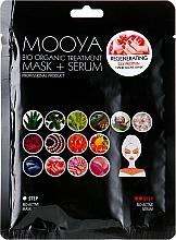 Parfums et Produits cosmétiques Masque-gants bio + sérum bio aux protéines de soie pour mains - Beauty Face Mooya Bio Organic Treatment Mask + Serum