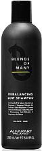 Parfums et Produits cosmétiques Shampooing à l'extrait de levure - Alfaparf Milano Blends Of Many Rebalancing Low Shampoo