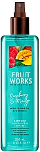 Parfums et Produits cosmétiques Brume à l'huile de jojoba pour corps, Framboise et Mangue - Grace Cole Fruit Works Raspberry & Mango Body Mist