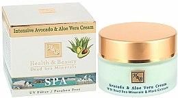 Parfums et Produits cosmétiques Crème à l'huile d'avocat et extrait d'aloe vera pour visage - Health And Beauty Intensive Avocado & Aloe Vera Cream