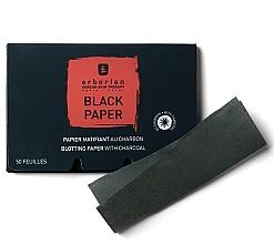 Parfums et Produits cosmétiques Papiers matifiants au charbon - Erborian Blotting Paper With Charcoal