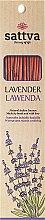 Parfums et Produits cosmétiques Bâtons d'encens Lavande - Sattva Lavender