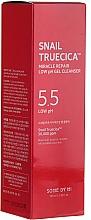 Parfums et Produits cosmétiques Gel nettoyant à faible pH à la bave d'escargot pour visage - Some By Mi Truecica Miracle Repair Low pH Gel Cleanser