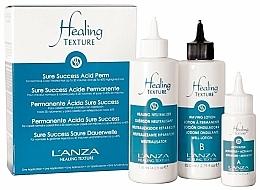 Parfums et Produits cosmétiques L'anza Healing Texture Sure Success Acid Perm - Kit de permanente (guérison neutralisant/118ml + lotion permanente/82ml + activateur/21ml)
