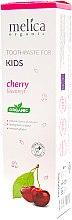 Parfums et Produits cosmétiques Dentifrice pour enfant, Cerise - Melica Organic