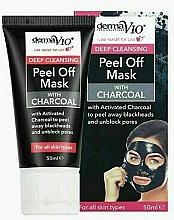Parfums et Produits cosmétiques Masque peel-off au charbon pour visage - Derma V10 Deep Cleansing Peel Off Charcoal Mask