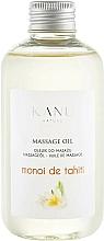 Parfums et Produits cosmétiques Huile de massage Monoï de Tahiti - Kanu Nature Monoi de Tahiti Massage Oil