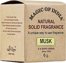 Parfums et Produits cosmétiques Parfum naturel en crème, Musc - Shamasa