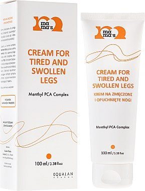 Crème pour jambes fatiguées et enflées - Mama's Cream For Tired And Swollen Legs