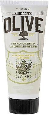 Lait à la fleur d'olivier pour corps - Korres Pure Greek Olive Body Milk Olive Blossom — Photo N1