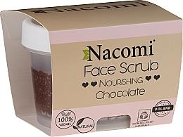 Parfums et Produits cosmétiques Gommage pour visage et lèvres Chocolat - Nacomi Moisturizing Face&Lip Scrub Chocolate