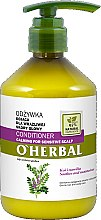 Parfums et Produits cosmétiques Après-shampooing apaisant pour cuir chevelu sensible à l'extrait de réglisse - O'Herbal