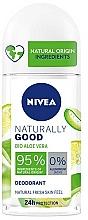 Parfums et Produits cosmétiques Déodorant roll-on à l'aloe vera - Nivea Naturally Good Deodorant Roll-on Bio Aloe Vera