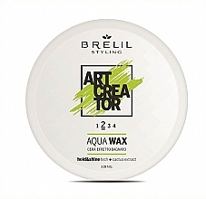 Parfums et Produits cosmétiques Cire coiffante à base d'eau - Brelil Art Creator Aqua Wax