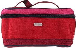 Parfums et Produits cosmétiques Trousse de toilette carrée 4COL, 94637, rouge-rose - Top Choice