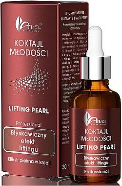 Élixir de beauté avec micro-algues et perle blanche pour visage - Ava Laboratorium Lifting Pearl