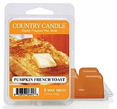 Parfums et Produits cosmétiques Cire parfumée pour lampe aromatique - Country Candle Pumpkin French Toast Wax Melts
