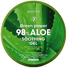 Parfums et Produits cosmétiques Gel à l'aloe vera pour visage, corps et cheveux - Dewytree Green Power Aloe Soothing Gel