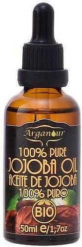 Huile bio de jojoba pour cheveux et corps - Arganour Jojoba Oil 100% Pure — Photo N1