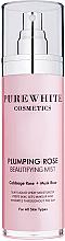 Parfums et Produits cosmétiques Brume de soin hydratante à l'extrait de rose pour visage - Pure White Cosmetics Plumping Rose Beautifying Mist