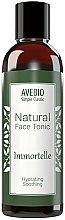 Parfums et Produits cosmétiques Lotion tonique naturelle pour le visage - Avebio Natural Face Tonic Immortelle