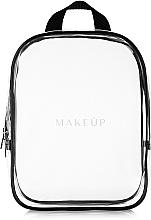 Parfums et Produits cosmétiques Trousse de toilette transparente, noir (20 x 25 x 8 cm, vide) - MakeUp